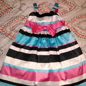 Pinky Dresses - Pinky Dress sleeveless multicolor dress size 3t